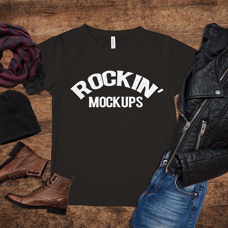 RockinMockups is an instant download online store where you can download mockups for selling t shirts online.